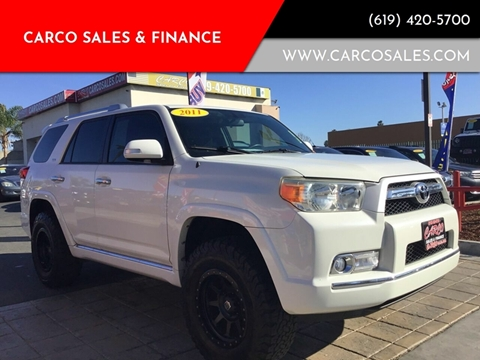 2011 Toyota 4Runner SR5 for sale at CARCO SALES & FINANCE #3 in Chula Vista CA
