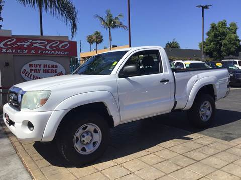 2010 Toyota Tacoma PreRunner for sale at CARCO SALES & FINANCE #3 in Chula Vista CA
