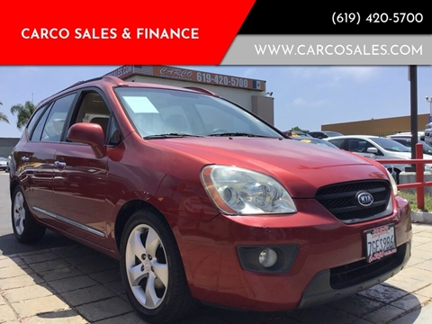2007 Kia Rondo for sale at CARCO SALES & FINANCE - Under 7000 in Chula Vista CA