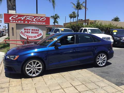2016 Audi A3 for sale at CARCO SALES & FINANCE in Chula Vista CA