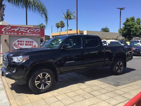 2018 Toyota Tacoma TRD Sport for sale at CARCO SALES & FINANCE #3 in Chula Vista CA
