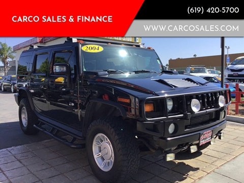 2004 HUMMER H2 for sale at CARCO SALES & FINANCE #3 in Chula Vista CA