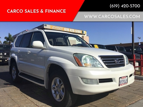 2005 Lexus GX 470 for sale at CARCO SALES & FINANCE #3 in Chula Vista CA