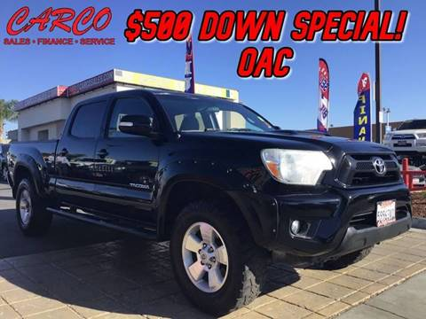 2015 Toyota Tacoma PreRunner V6 for sale at CARCO SALES & FINANCE #3 in Chula Vista CA