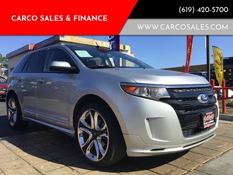2011 Ford Edge Sport for sale at CARCO SALES & FINANCE #3 in Chula Vista CA