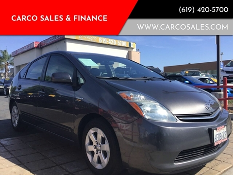 2008 Toyota Prius for sale at CARCO SALES & FINANCE - Under 7000 in Chula Vista CA