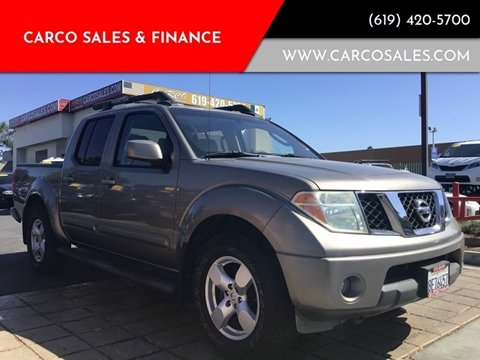 2006 Nissan Frontier LE for sale at CARCO SALES & FINANCE #3 in Chula Vista CA
