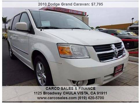 2010 Dodge Grand Caravan for sale in Chula Vista, CA