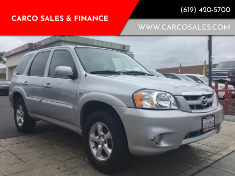 2006 Mazda Tribute for sale at CARCO SALES & FINANCE - Under 7000 in Chula Vista CA