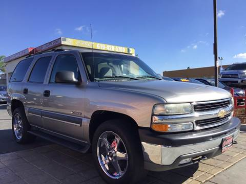 2002 Chevrolet Tahoe for sale at CARCO SALES & FINANCE - Under 7000 in Chula Vista CA