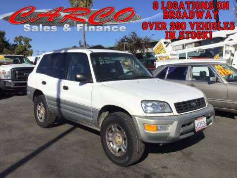 2000 Toyota RAV4 for sale at CARCO SALES & FINANCE - Under 7000 in Chula Vista CA