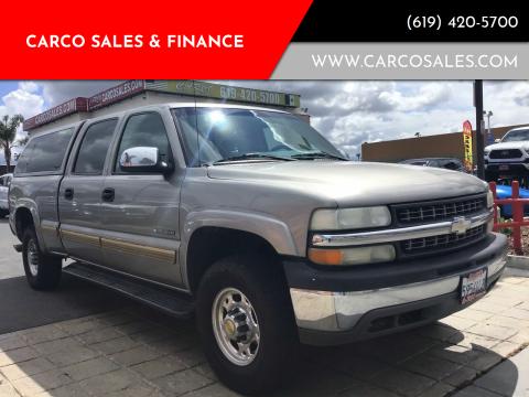 2002 Chevrolet Silverado 1500HD for sale at CARCO SALES & FINANCE #3 in Chula Vista CA