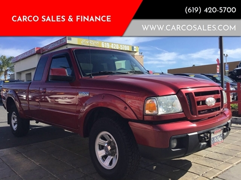 2007 Ford Ranger SPORT for sale at CARCO SALES & FINANCE #2 in Chula Vista CA