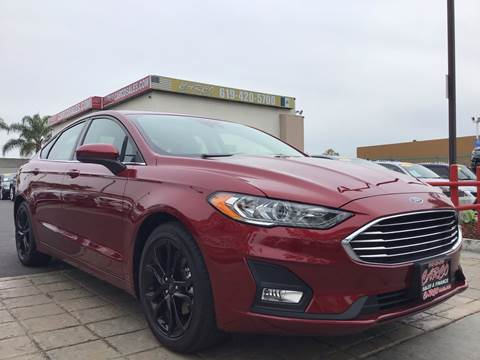 2019 Ford Fusion for sale at CARCO SALES & FINANCE in Chula Vista CA