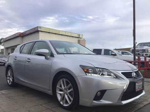 2016 Lexus CT 200h for sale at CARCO SALES & FINANCE #3 in Chula Vista CA