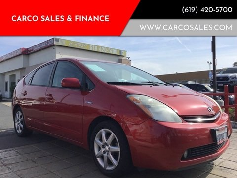 2009 Toyota Prius for sale at CARCO SALES & FINANCE #3 in Chula Vista CA