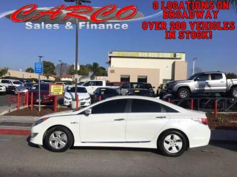 2012 Hyundai Sonata Hybrid for sale at CARCO SALES & FINANCE #3 in Chula Vista CA