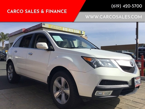 2011 Acura MDX for sale at CARCO SALES & FINANCE #3 in Chula Vista CA