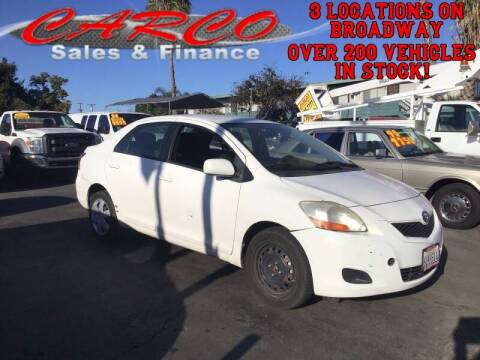 2010 Toyota Yaris for sale at CARCO SALES & FINANCE - Under 7000 in Chula Vista CA