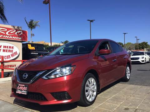 2016 Nissan Sentra for sale at CARCO SALES & FINANCE #3 in Chula Vista CA