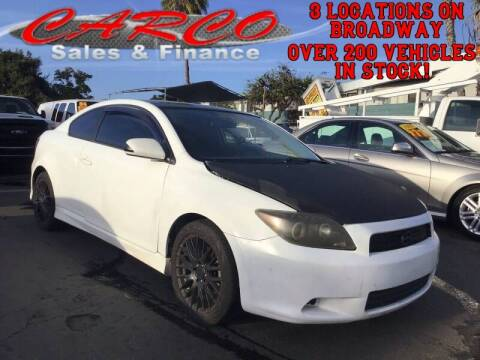 2009 Scion tC for sale at CARCO SALES & FINANCE #3 in Chula Vista CA