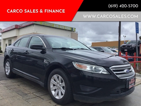 2012 Ford Taurus for sale at CARCO SALES & FINANCE #3 in Chula Vista CA