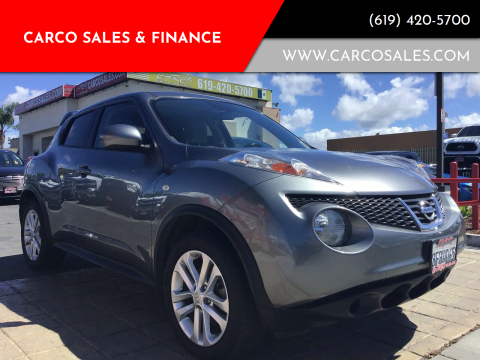 2014 Nissan JUKE for sale at CARCO SALES & FINANCE #3 in Chula Vista CA