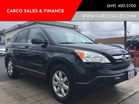 2007 Honda CR-V for sale at CARCO SALES & FINANCE #3 in Chula Vista CA