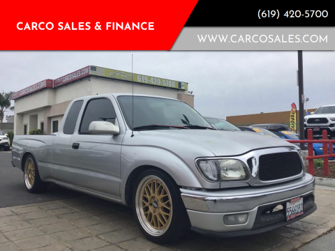 2003 Toyota Tacoma for sale at CARCO SALES & FINANCE #3 in Chula Vista CA