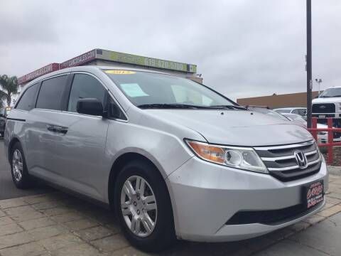 2012 Honda Odyssey for sale at CARCO SALES & FINANCE #3 in Chula Vista CA