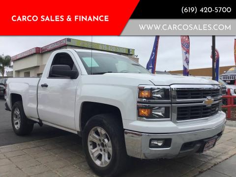 2014 Chevrolet Silverado 1500 for sale at CARCO SALES & FINANCE #3 in Chula Vista CA