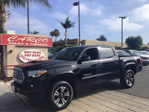 2017 Toyota Tacoma for sale at CARCO SALES & FINANCE #3 in Chula Vista CA