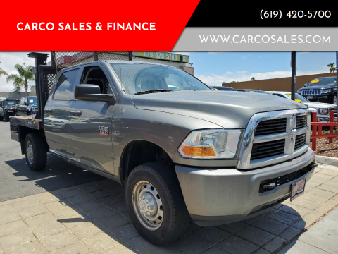 2011 RAM Ram Pickup 2500 for sale at CARCO SALES & FINANCE #3 in Chula Vista CA