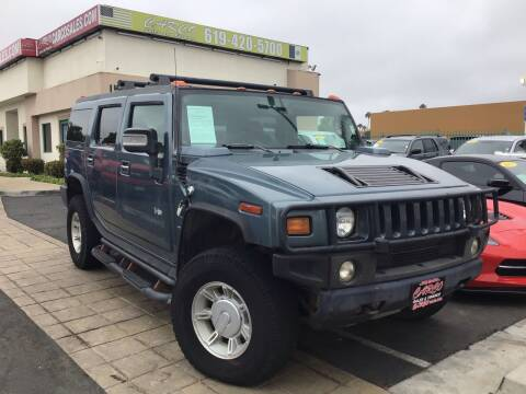 2007 HUMMER H2 for sale at CARCO SALES & FINANCE #3 in Chula Vista CA
