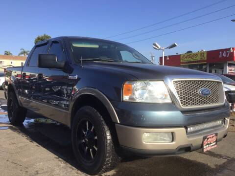 2004 Ford F-150 for sale at CARCO SALES & FINANCE #3 in Chula Vista CA