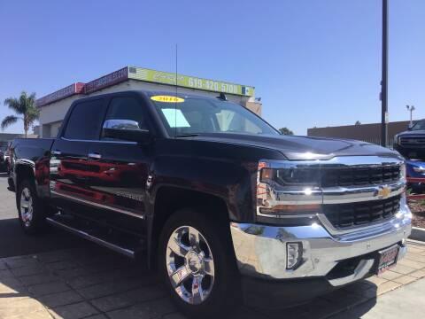 2016 Chevrolet Silverado 1500 for sale at CARCO SALES & FINANCE #3 in Chula Vista CA