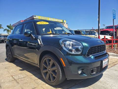2013 MINI Countryman for sale at CARCO SALES & FINANCE #3 in Chula Vista CA