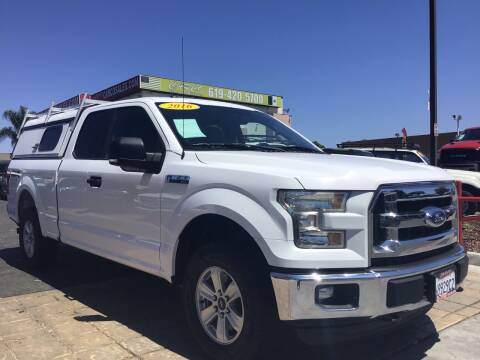 2016 Ford F-150 for sale at CARCO SALES & FINANCE #3 in Chula Vista CA