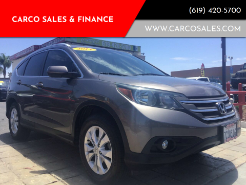 2014 Honda CR-V for sale at CARCO SALES & FINANCE #3 in Chula Vista CA