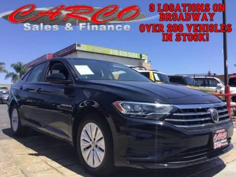 2019 Volkswagen Jetta for sale at CARCO SALES & FINANCE #3 in Chula Vista CA