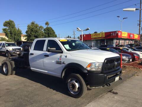 2017 RAM Ram Chassis 5500 for sale at CARCO SALES & FINANCE #3 in Chula Vista CA