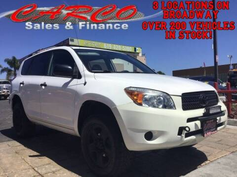 2007 Toyota RAV4 for sale at CARCO SALES & FINANCE #3 in Chula Vista CA
