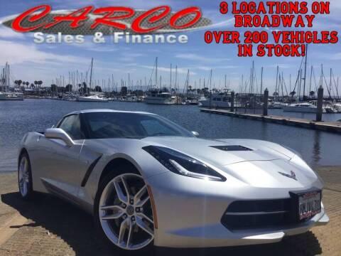 2019 Chevrolet Corvette for sale at CARCO SALES & FINANCE in Chula Vista CA