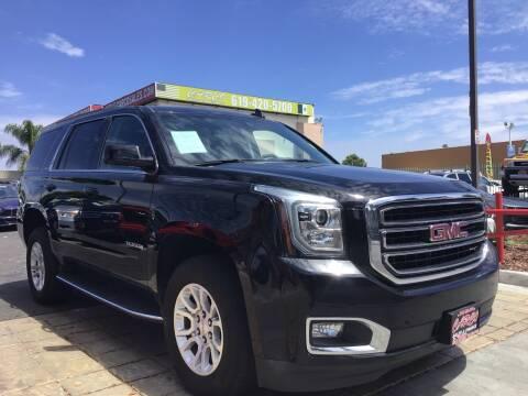2017 GMC Yukon for sale at CARCO SALES & FINANCE in Chula Vista CA