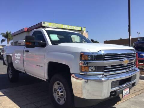 2016 Chevrolet Silverado 2500HD for sale at CARCO SALES & FINANCE #3 in Chula Vista CA