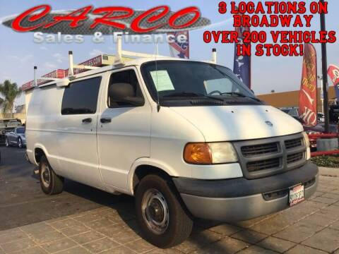 2003 Dodge Ram Cargo for sale at CARCO SALES & FINANCE #3 in Chula Vista CA