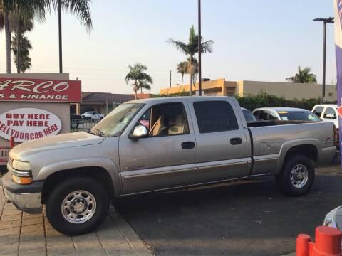 2001 Chevrolet Silverado 1500HD for sale at CARCO SALES & FINANCE in Chula Vista CA