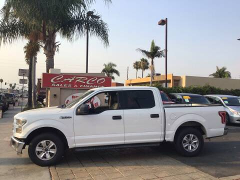 2015 Ford F-150 for sale at CARCO SALES & FINANCE in Chula Vista CA