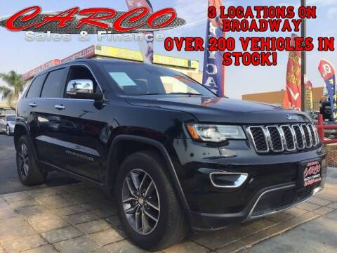 2017 Jeep Grand Cherokee for sale at CARCO SALES & FINANCE in Chula Vista CA