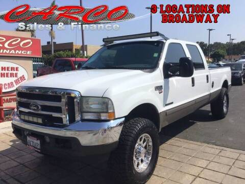 2002 Ford F-350 Super Duty for sale at CARCO SALES & FINANCE in Chula Vista CA